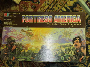 Fortress America !986 ( Pre Desert Storm with Sadam on Cover )